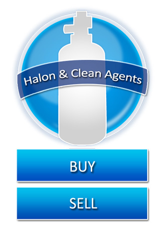 We Buy & Sell Halons & Clean Agents